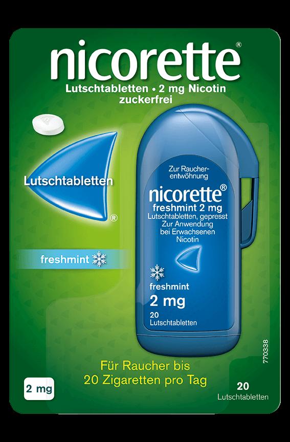 NICORETTE® Lutschtablette Großpackung