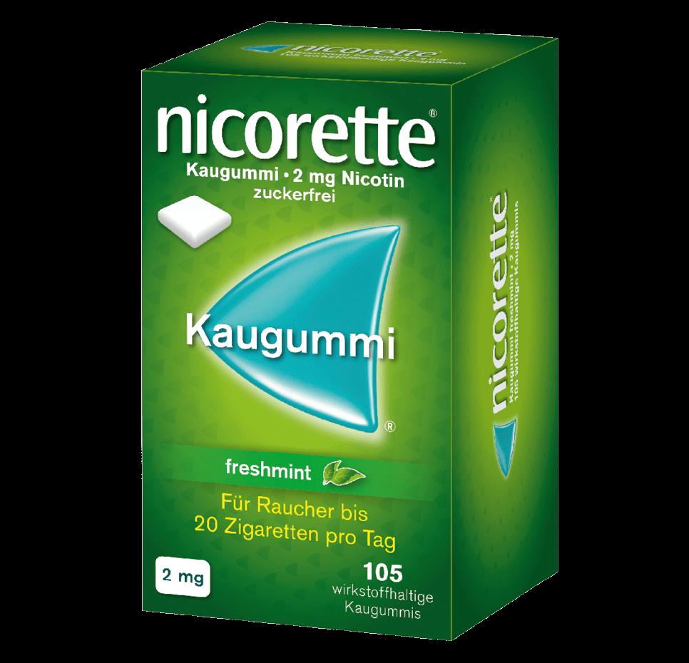 NICORETTE® Kaugummi Großpackung