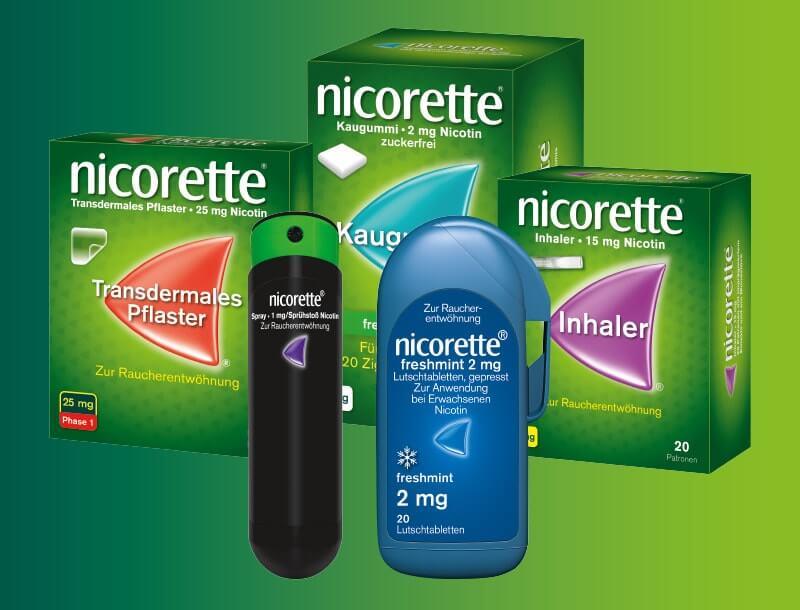 Welche nicorette® Produkte gibt es?